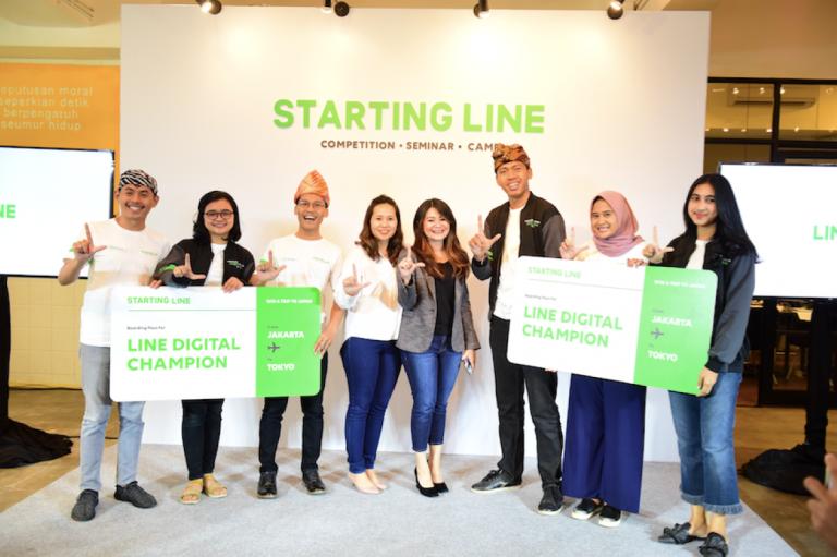 Lewat STARTING LINE, LINE Jaring Generasi Muda untuk Bangun Komunitas Digital yang Positif