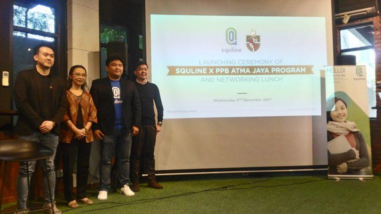 Kerjasama dengan Atma Jaya, Squline Kembangkan Kurikulum Bahasa Inggris untuk e-Learning