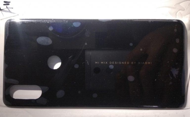 Inikah Panel Belakang Xiaomi Mi Mix 3?