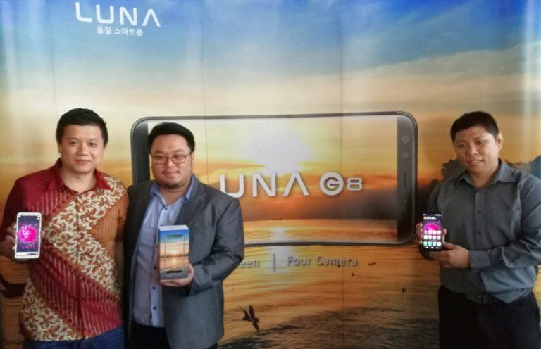 Hadirkan Luna G8, Konsumen Kini Punya Pilihan Smartphone dengan Empat Kamera