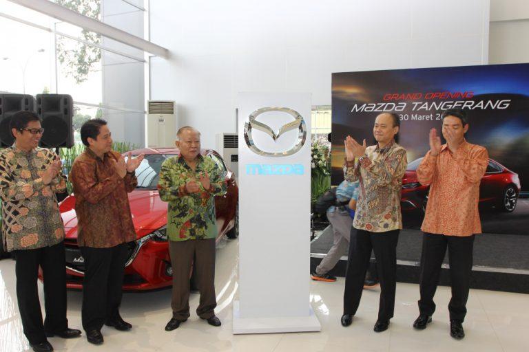 Mazda Resmikan Dealer ke 45 di Tangerang