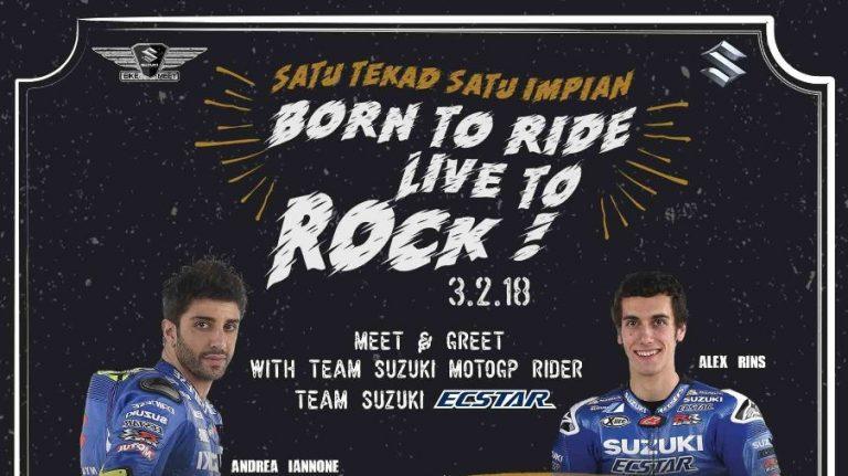 Kumpul Nasional Bikers Suzuki Bakal Diramaikan Team Suzuki Ecstar MotoGP