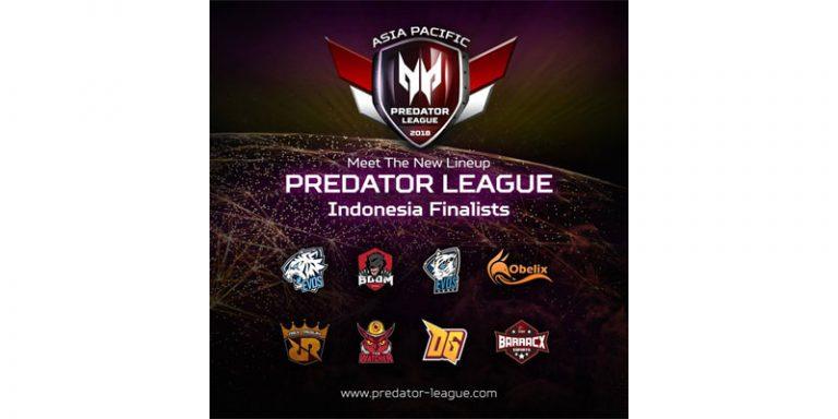 8 Tim Ini Siap Duel di Final Predator League 2018