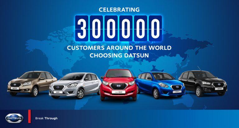 300 Ribu Unit Mobil Datsun Sudah Terjual di Seluruh Dunia