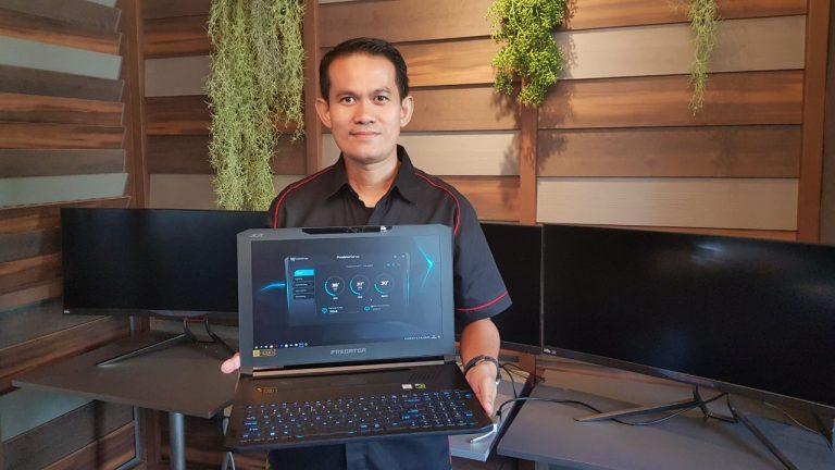 Notebook Gaming Racikan Acer Seharga Rp55 Juta Hadir di Indonesia