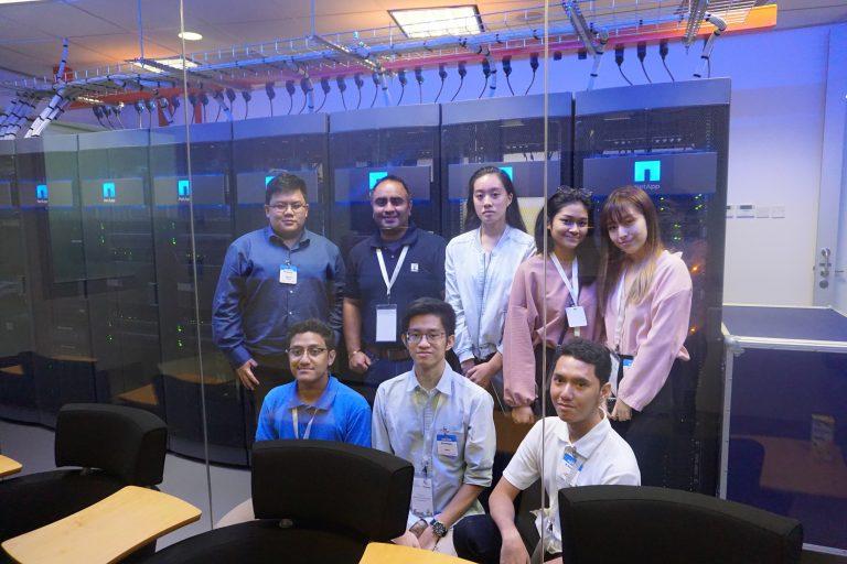 Matkul Teknologi Cloud Sambangi Universitas Binus
