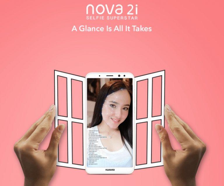 Menarik! Update Huawei Nova 2i Hadirkan Fitur Face Unlock dan Lensa AR