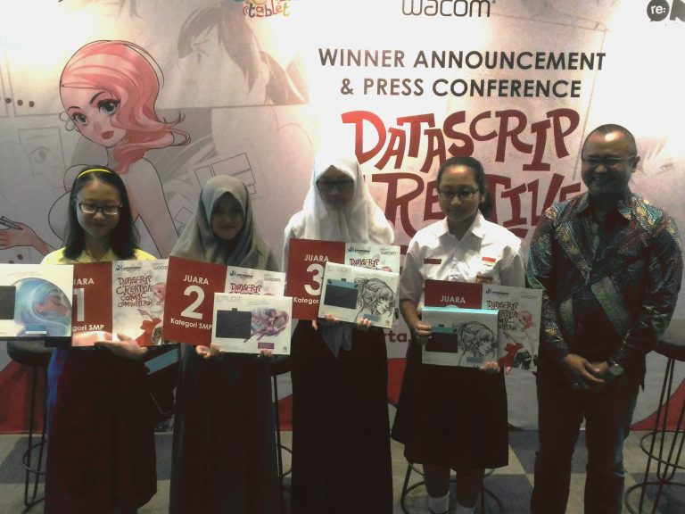 Inilah Wajah-wajah Juara Datascrip Creative Comic Competition 2017