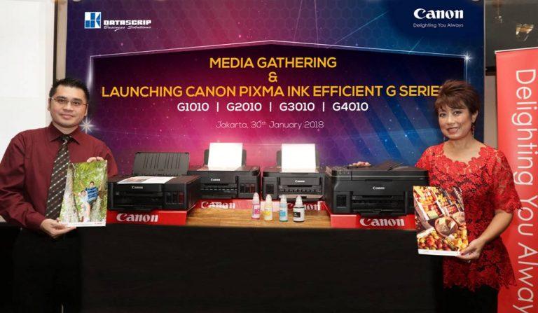 Datascrip Perkenalkan Empat Printer Canon Pixma G-Series Terbaru ke Pasar Indonesia