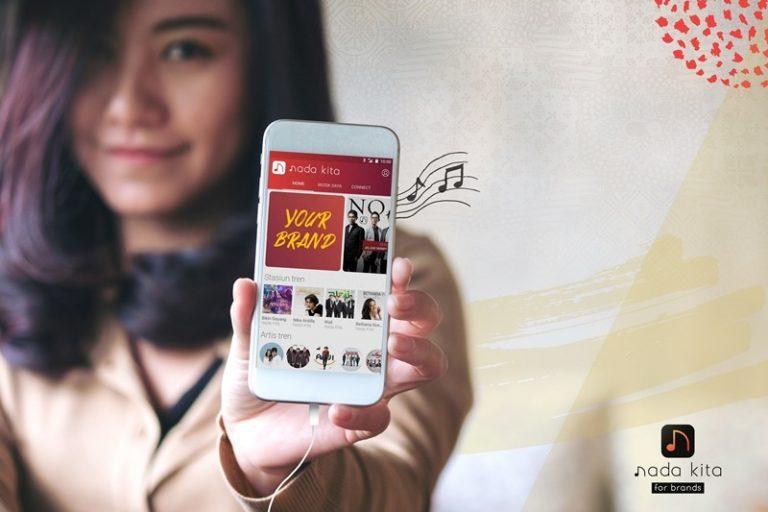 Aplikasi Musik Nada Kita Telah Diunduh Lebih dari 2 Juta Milenials Indonesia