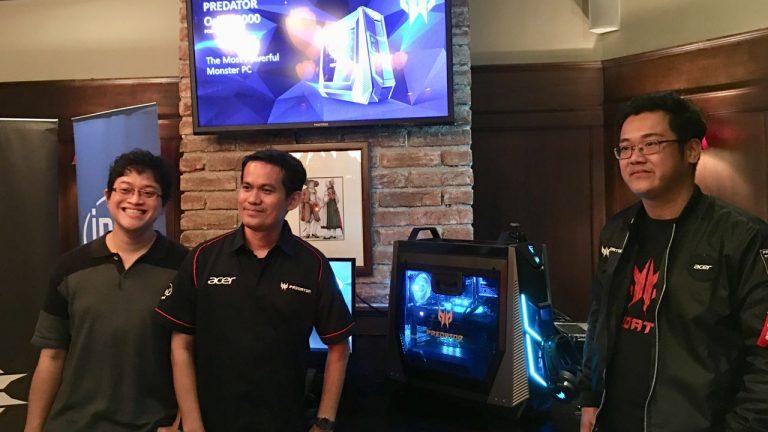 Kembali Buat Kejutan di Pasar Game Indonesia, Acer Perkenalkan Predator Orion 9000
