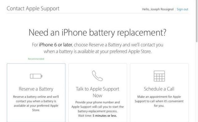 Baru di Kanada, Baterai iPhone Bisa Dipesan Secara Online di Apple Store