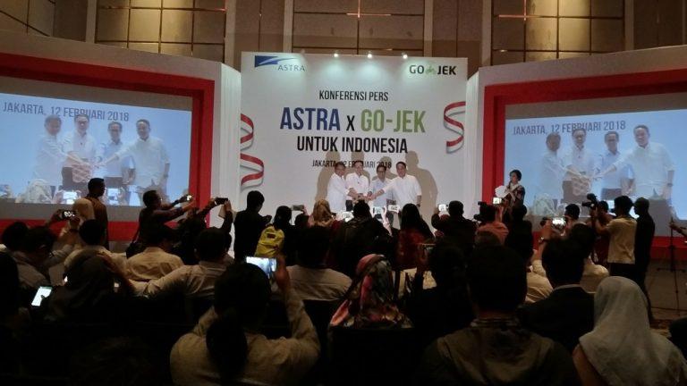 Astra Resmi Gelontorkan Uang Sebesar Rp2 Triliun untuk Go-Jek