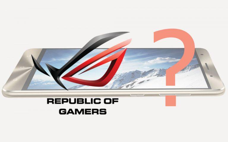 Selain Zenfone 5, Asus Diketahui Juga Godok Smartphone Gaming. ROG Series?