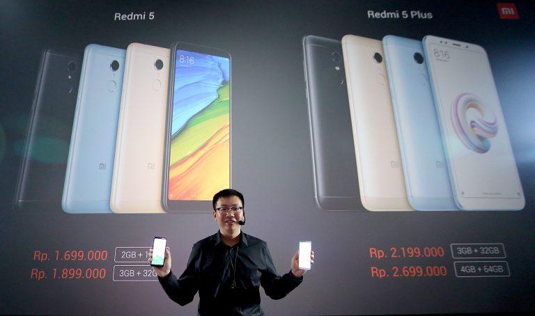 Kembali Goyang Indonesia, Xiaomi Perkenalkan Redmi 5 dan Redmi 5 Plus