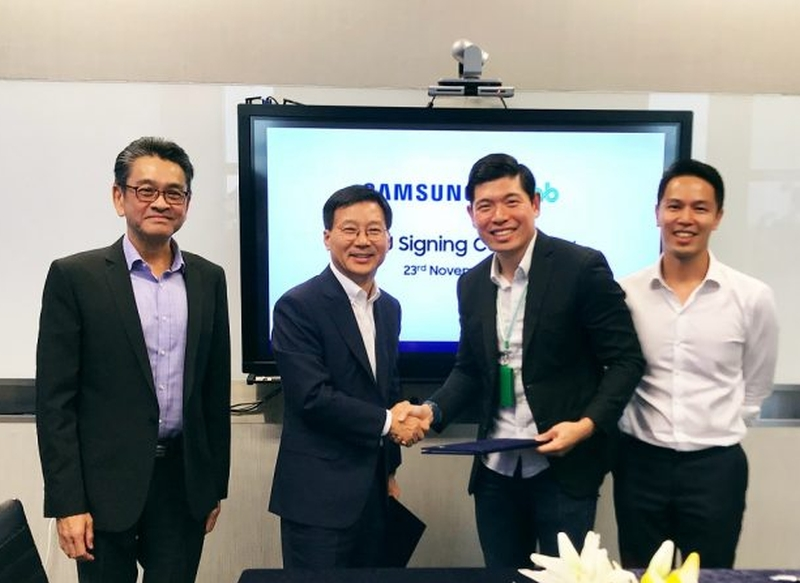 Grab - Samsung deal