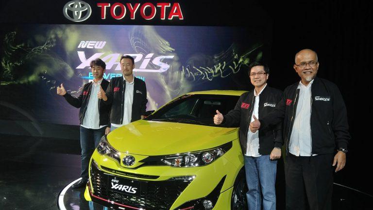 Toyota Hadirkan New Yaris di Indonesia, Ini Harganya!