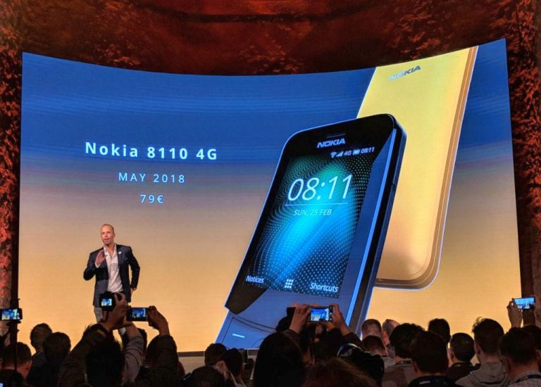 Spesifikasi Minimalis, Nokia 8110 4G Andalkan Nostalgia Pengguna Zaman 'Old'