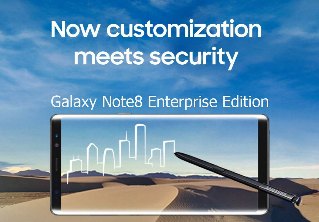 Note 8 enterprise edition