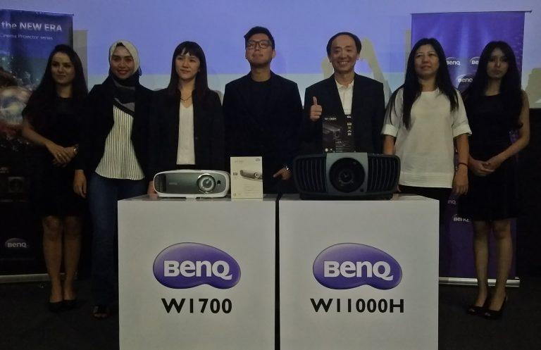 BenQ Boyong Dua Proyektor Home Cinema 4K ke Pasar Indonesia