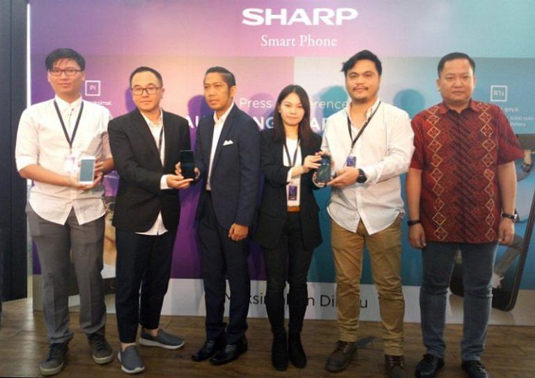 Luncurkan R1s dan Pi, Sharp Indonesia Ramaikan Pasar Smartphone Dual Camera dan Baterai Besar
