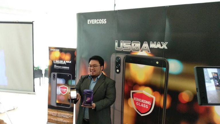 Evercoss Luncurkan Smartphone 4 Kamera U50A Max dengan Harga Rp 1 Jutaan
