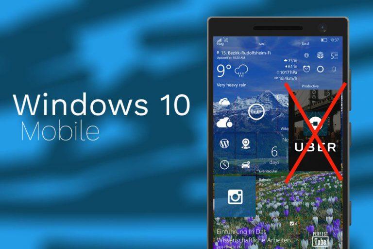 Uber Tambah Daftar Aplikasi yang Pamit dari Windows Phone