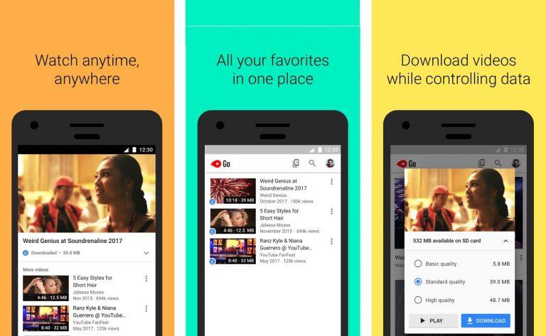 YouTube Go Sudah Didistribusikan ke 130 Negara