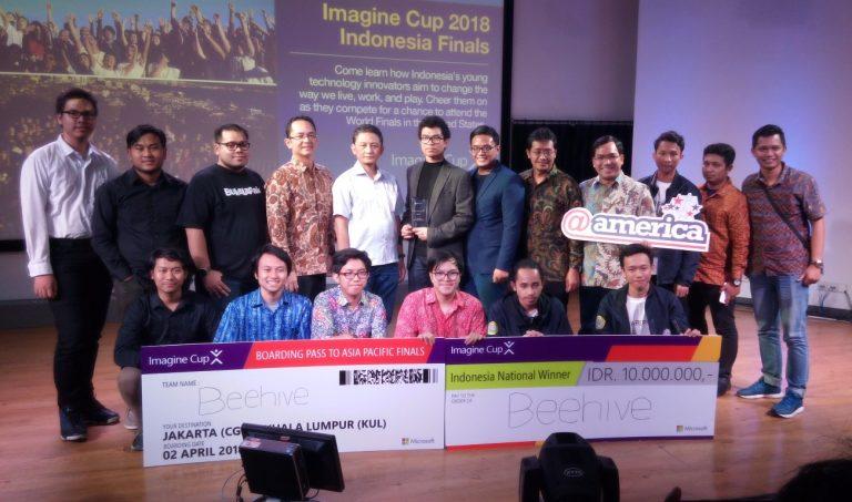 Final Imagine Cup 2018 Indonesia Hasilkan Tim Beehive Drones Untuk Mewakili Indonesia di Final APAC