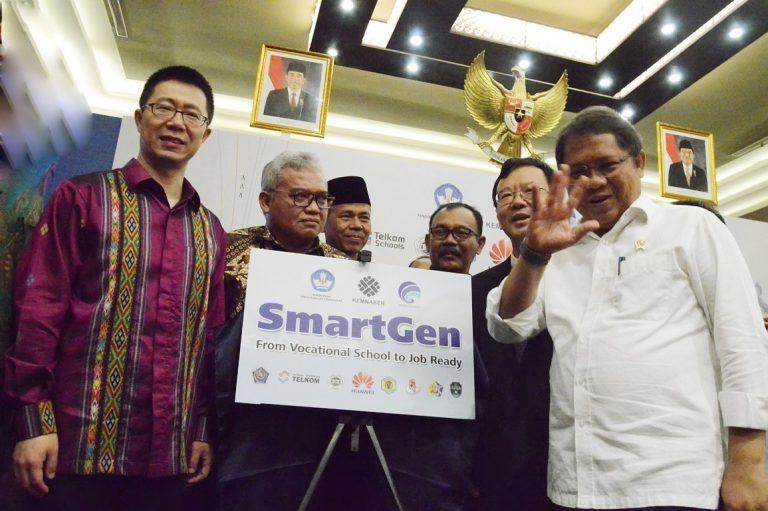 Huawei Indonesia Siapkan 1.000 Siswa SMK siap Kerja Melalui Program SmartGen 2018