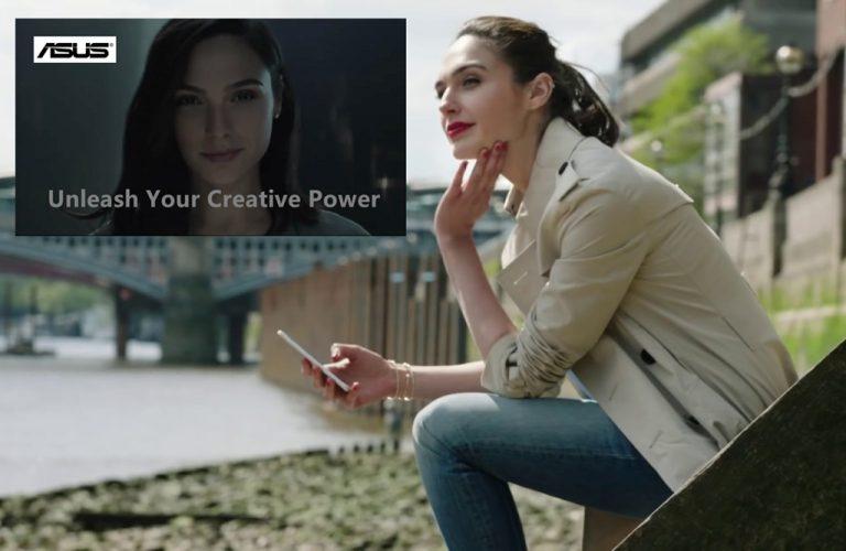 """Selain """"CEO"""" Huawei, Apakah Gal 'Wonder Woman' Gadot Juga Rangkap Jadi Ambasador Asus ZenBook?"""