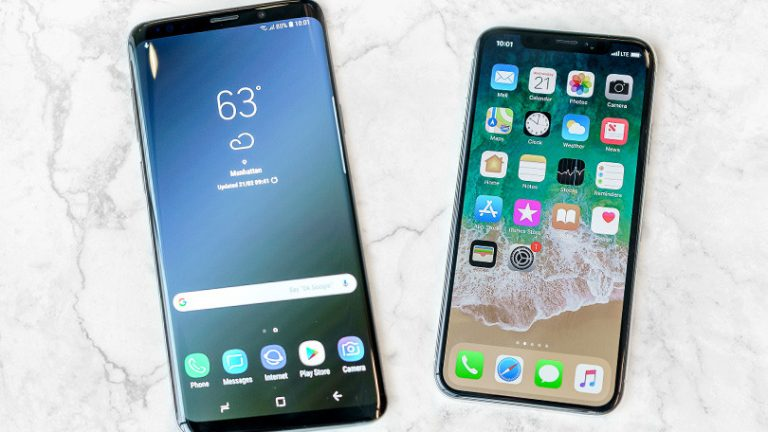 Samsung Galaxy S9 vs iPhone X: Siapa Raja Sesungguhnya?