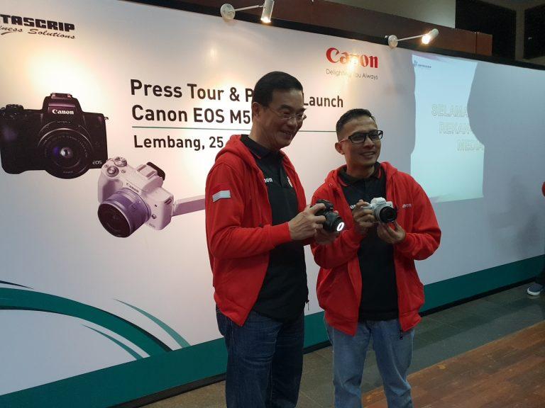 Ditujukan untuk Para Vlogger, Canon Hadirkan Mirorrless EOS M50 dengan Fitur 4K