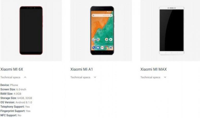 Postur dan Spesifikasi Singkat Mi 6X Nongkrong di Android.com