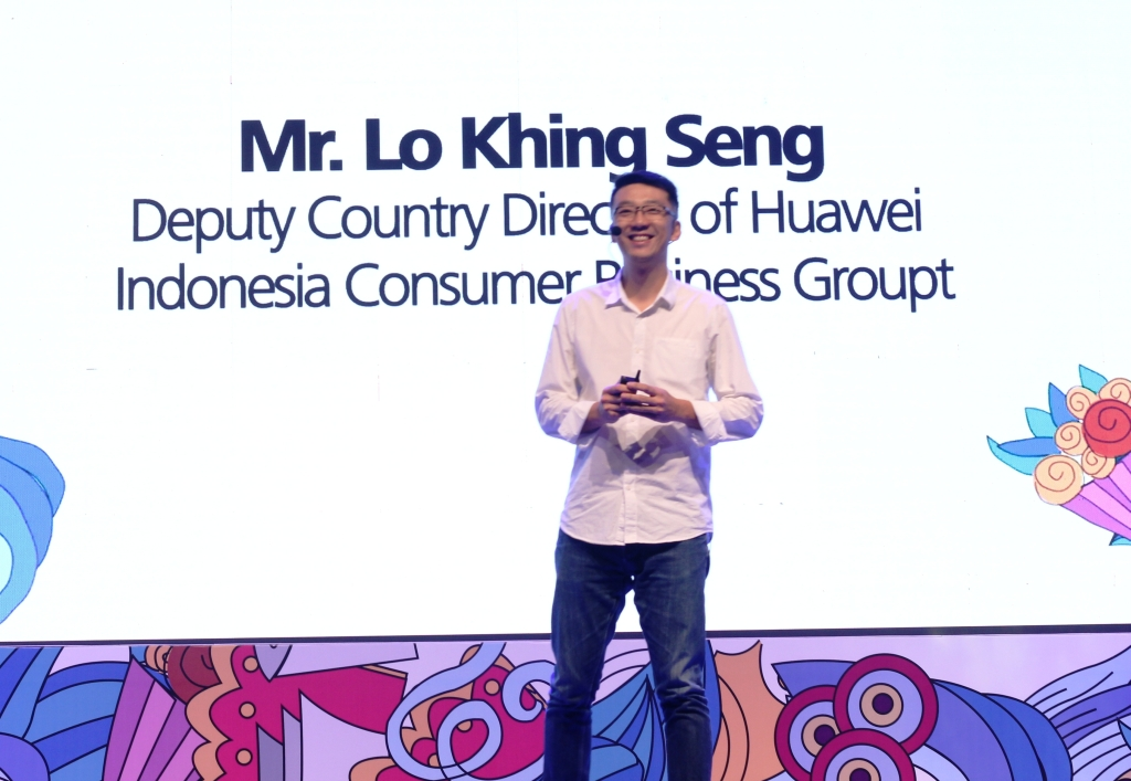 Lo Khing Seng (Deputy Country Director Huawei Indonesia)