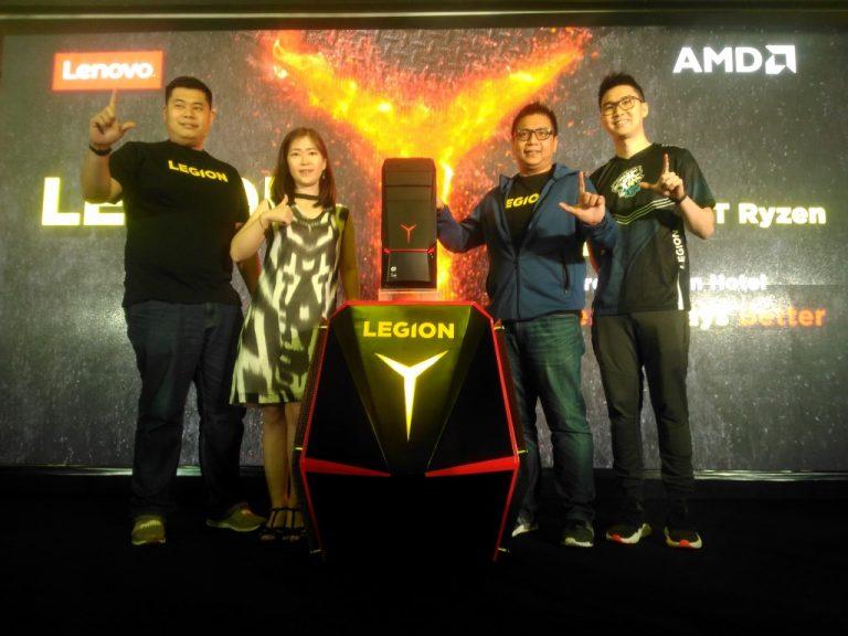 e-Sport Sedang Bergairah, Legion Y720 Tower AMD Ryzen Berharap Bisa Dongkrak Pasar Gaming Indonesia