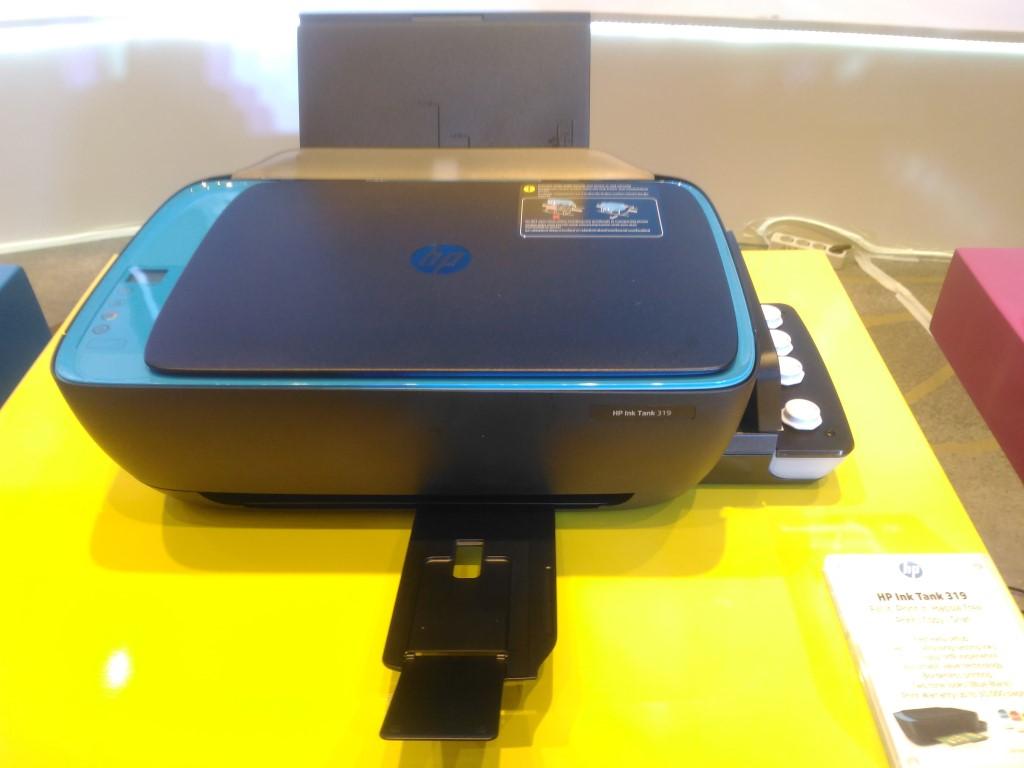 Masih Incar Segmen UKM, HP Keluarkan Jajaran Printer Ink