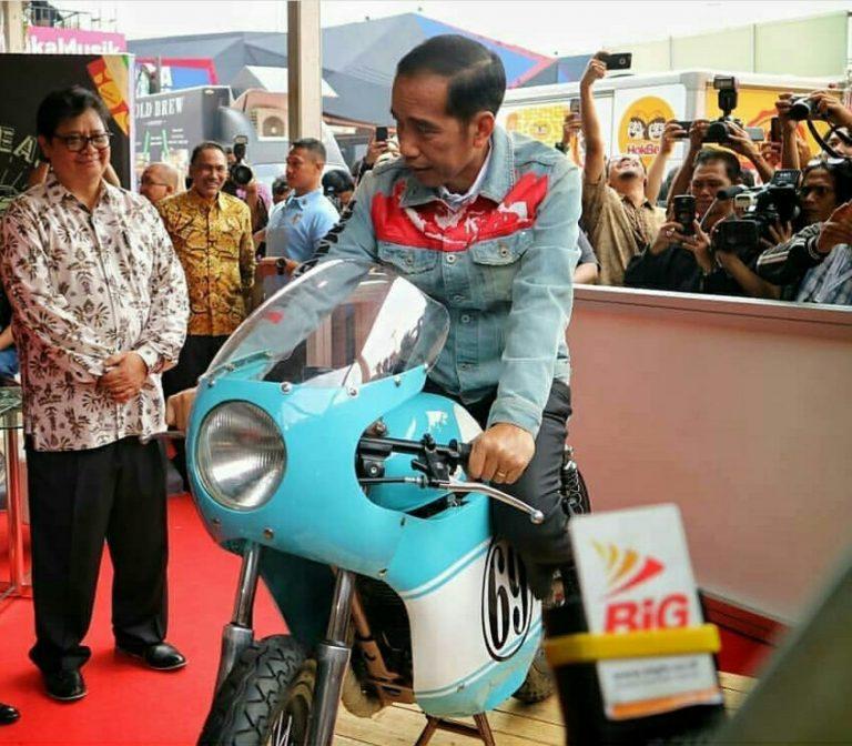 IIMS 2018 Resmi Bergulir, Jokowi Singgung Soal Revolusi Industri 4.0