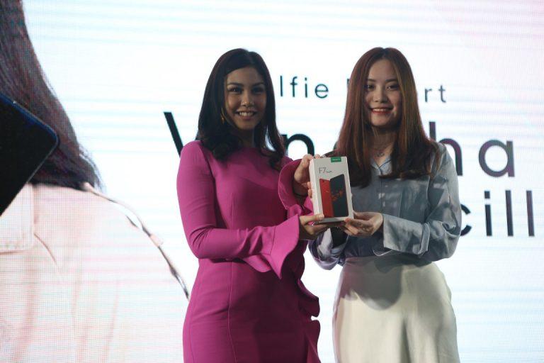 OPPO F7 Youth Resmi Masuk Indonesia, Vanesha Prescilla Jadi Brand Ambassadornya