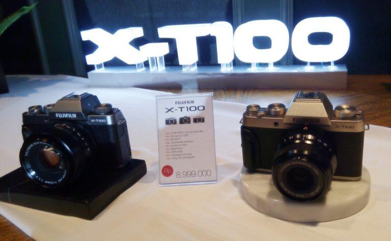 Fujifilm Rilis X-T100, Kamera Mirrorless Bergaya Retro