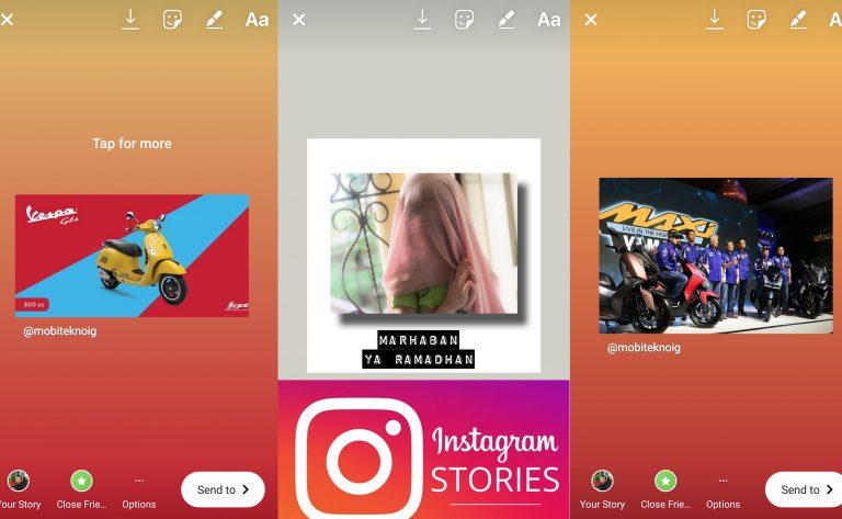 Instagram Tambah Kemampuan Berbagi Postingan ke Dalam Stories
