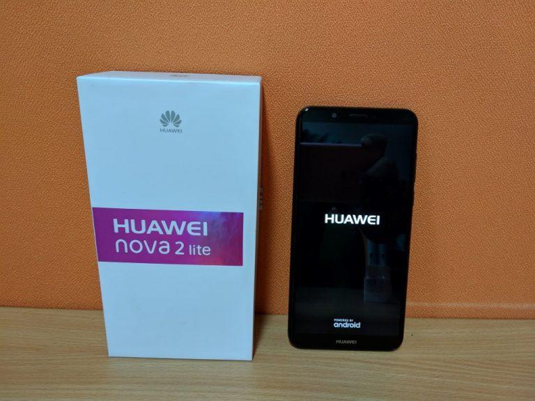Huawei Nova 2 Lite Sudah Dijual Online dan Offline, Yuk Lihat Isi Paketnya