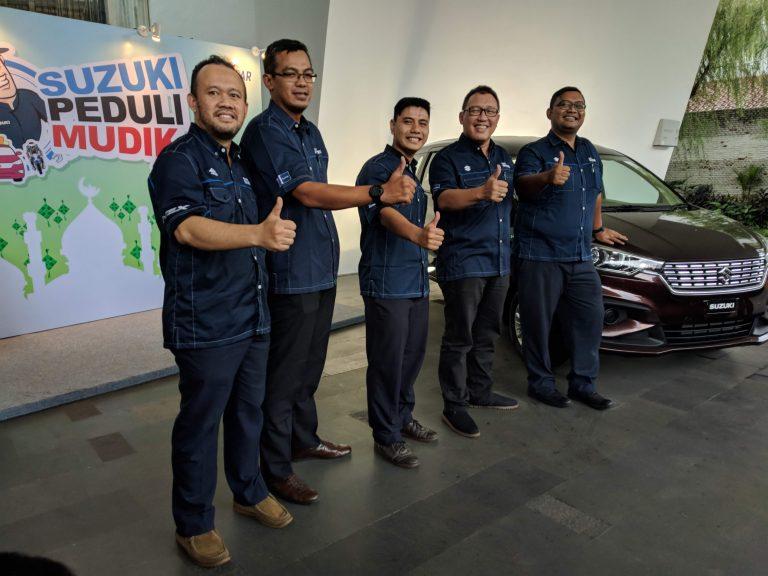 Melalui Suzuki Peduli Mudik 2018, Suzuki Akan Jaga Pemudik Menuju Kampung Halamannya