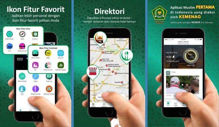 Muslim GO, Aplikasi Berfaedah 'Zaman Now' yang Direkomendasikan Kementerian Agama