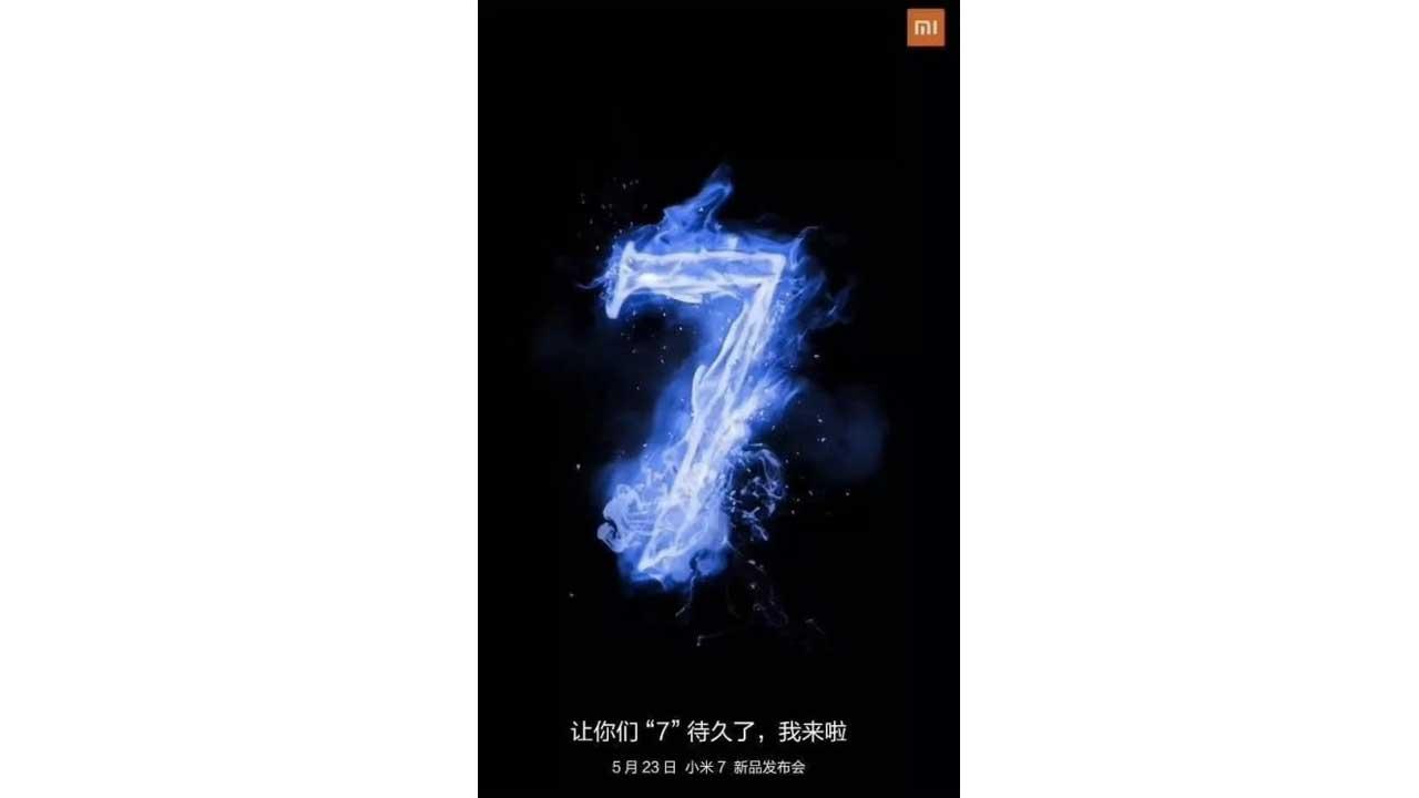Mi 7 event