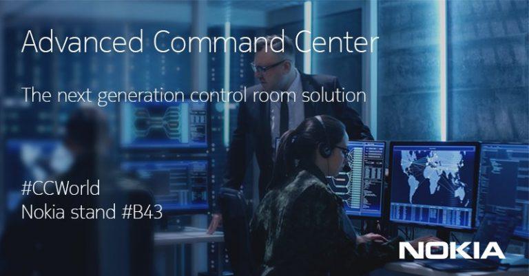 Untuk Manajemen Kota Cerdas dan Aman, Nokia Hadirkan 'Advanced Command Center'