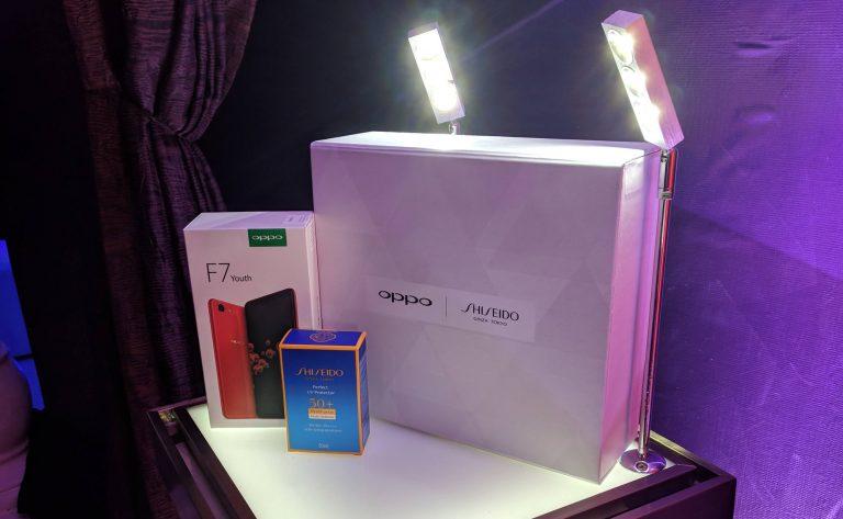 Cuma 200 Paket Saja, OPPO F7 Youth Shiseido Sudah Bisa Dipesan di Lazada