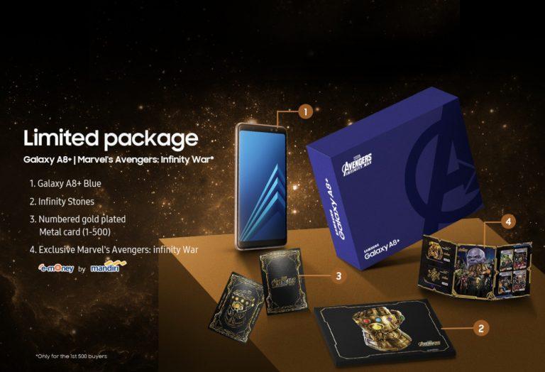 Demam Avengers: Infinity War, Samsung Keluarkan Galaxy A8+ Special Edition