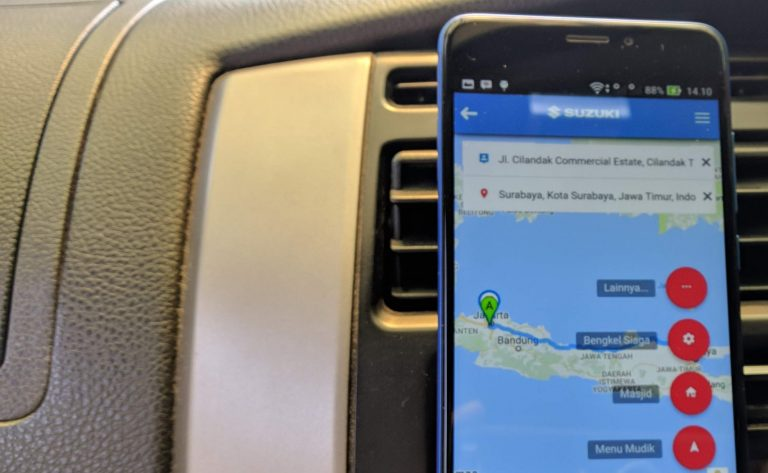 Mudahkan Pemudik, Suzuki Gunakan Aplikasi Halo Suzuki Mudik Assistance