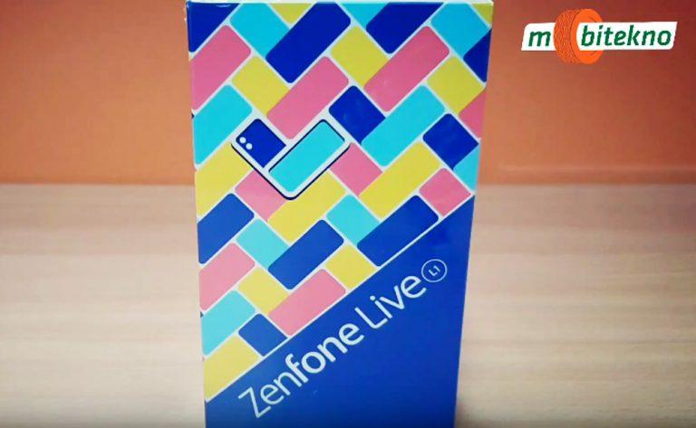 Hands-On Singkat dan Spesifikasi Asus ZenFone Live L1